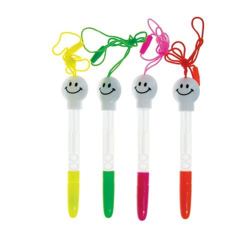 АКЦИЯ19 Игр Мыльные пузыри Мы-шарики! с ручкой с рожицей на шнурке