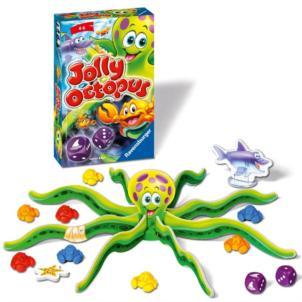 Игра АКЦИЯ19 Игр Настольная Jolly Octopus Веселый осьминог (Осьминог Джолли) мин