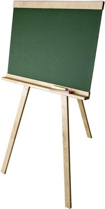 Доска для рисования №11 (мольберт, мел, тряпка)