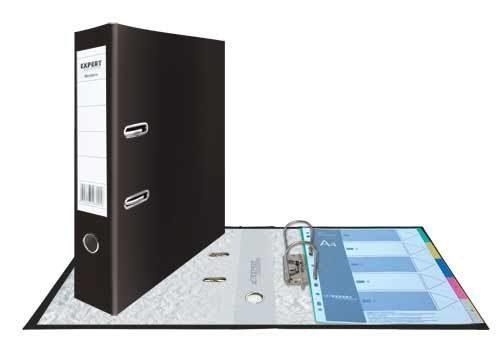Папка-регистратор 40мм Expert Modern черный