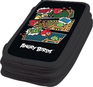 Пенал 1 отд полн Angry Birds
