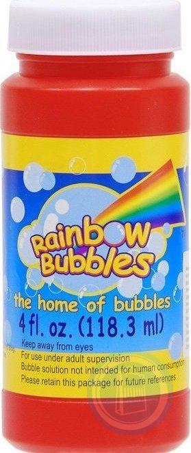 Мыльные пузыри 120мл Rainbow Bubbles