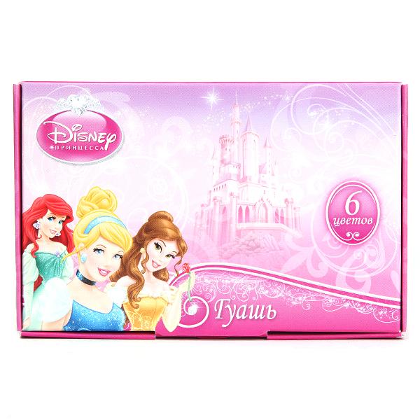 Гуашь 6цв Proff Волшебные принцессы 16см3