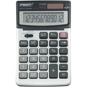 Калькулятор 12 разр. Proff с металл. панелью