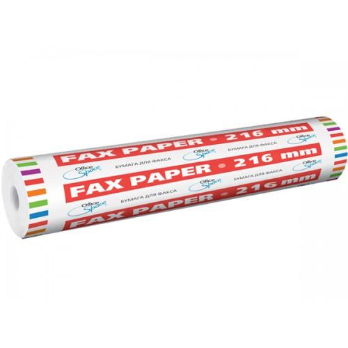 Бумага для факса 216*30*12 термо