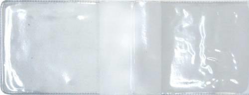 Обложка Студенческий билет ПВХ прозрачная 220*75