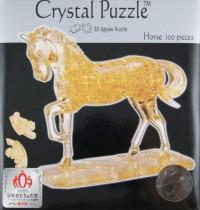 Головоломка Лошадь золотая 3D 100 дет.