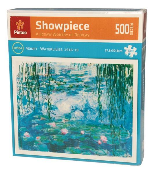 Пазл 500 Pintoo 3D Водные лилии Клод Моне 1916-1919 г.