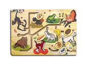 Лабиринт Чем питаются животные? дерев. 34х24,5