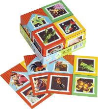 Кубики 4шт Step Строим домик