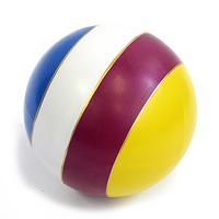 Мяч 150мм лакир. полоска