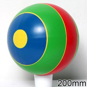 Мяч 200мм полоска