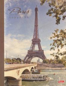 Тетрадь на кольцах Париж