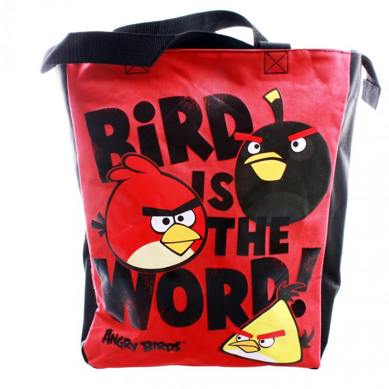 Сумка молодежная Angry Birds с ручками
