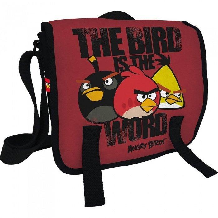Сумка молодежная Angry Birds на ремне мал.