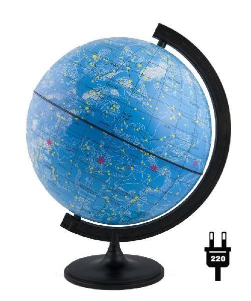 Глобус d-32 звездного неба (с подсветкой) М 1:40 000 000