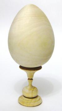 Заготовка из дерева липы Яйцо 120мм