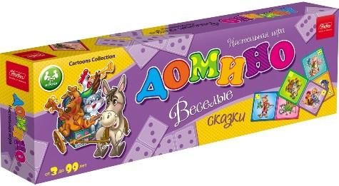 Игра Домино Веселые сказки 28 карточек