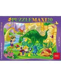Пазл Maxi 20 Пикник с Динозавром