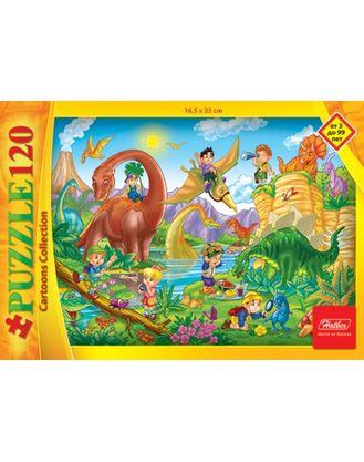 Пазл 120 Пикник с Динозавром