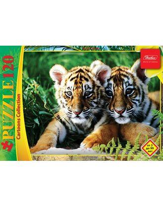 Пазл 120 Тигрята