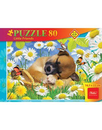 Пазл 80 Спящий щенок