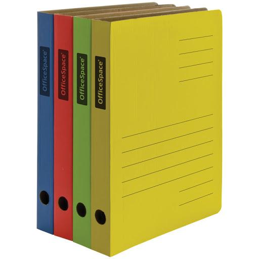 Папка-скоросшиватель Дело картон с расширением 30мм цветной