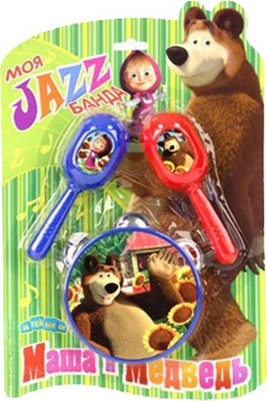 Музыкальная Набор инструментов Моя Jazz банда Маша и Медведь