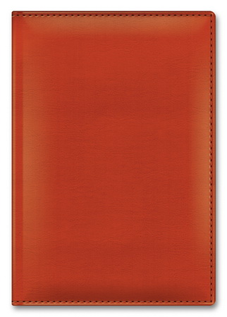 Ежедневник А5 2021г Sarif Classic Оранжевый