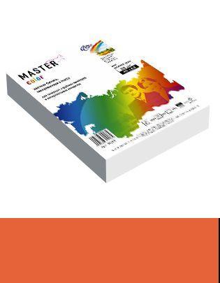 Бумага А4 цветная 50л оранжевый 80г/м2
