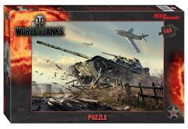 Пазл 560 Step World of Tanks (Wargaming)