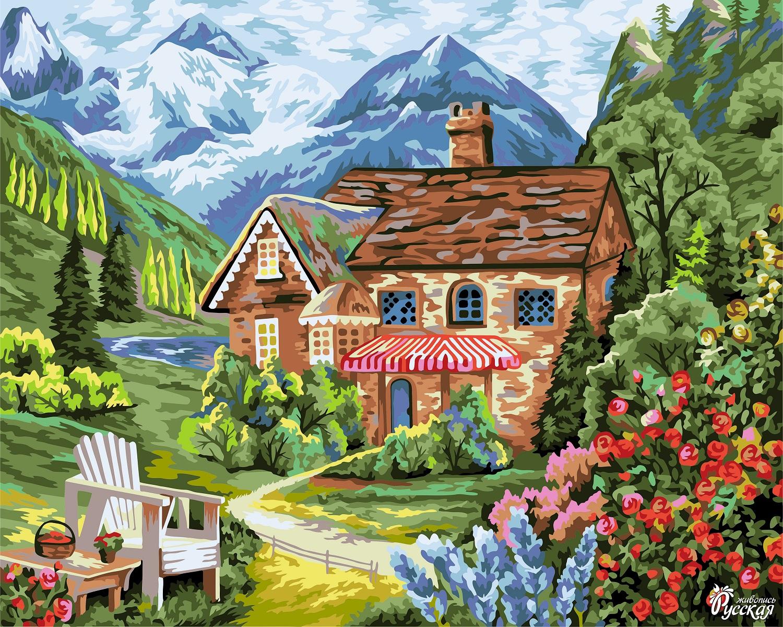 Творч Рисование по номерам 40Х50 Лето в Баварии