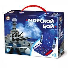 Игра Настольная Морской бой (мини)