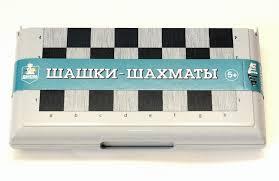 Настольная Шашки-Шахматы мал