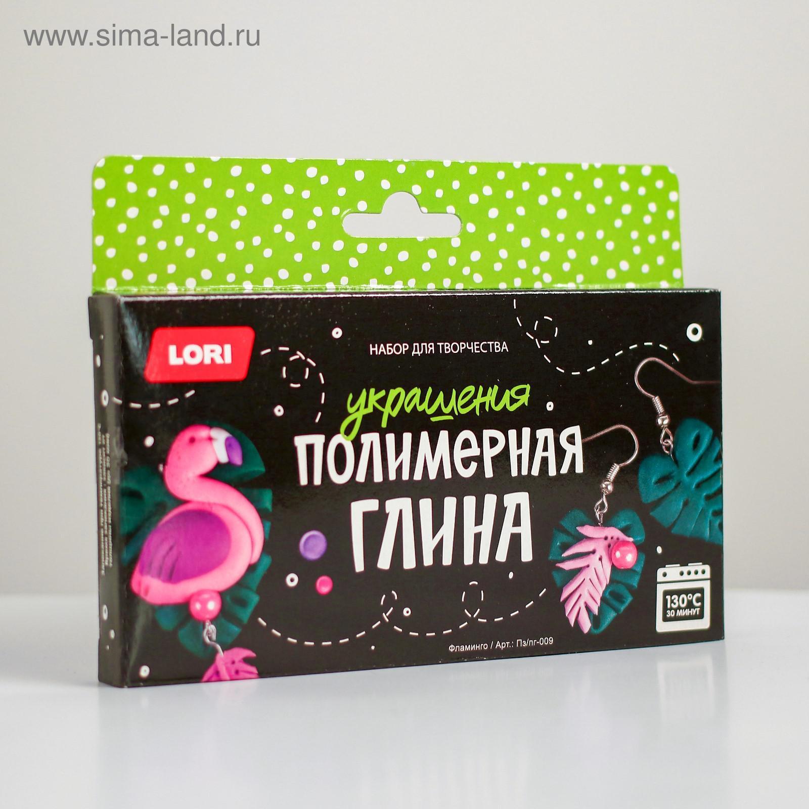 Творч Украшения из глины Фламинго