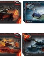 Пазл 54 Step World of Tanks (Wargaming)