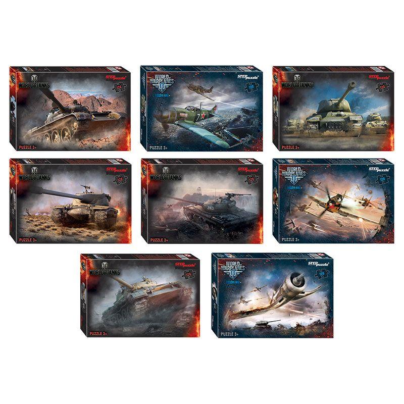 Пазл 120 Step World of Tanks (Wargaming)
