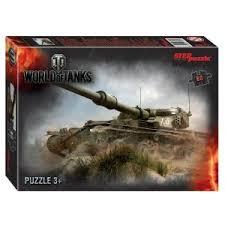 Пазл 80 Step World of Tanks (Wargaming)