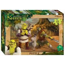 Пазл 35 Step Shrek
