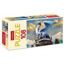 Пазл 108 Ледяной дракон