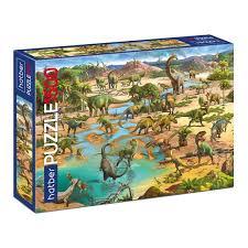 Пазл 1500 Эра динозавров