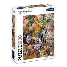 Пазл 1500 Фарфор и цветы. Головин А.Я. (Третьяковская галерея)