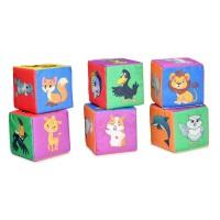 Мягконабивная Кубики Весёлый зоопарк