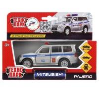 Машина Mitsubishi Pajero Полиция 12см, металл инерц., открыв. двери