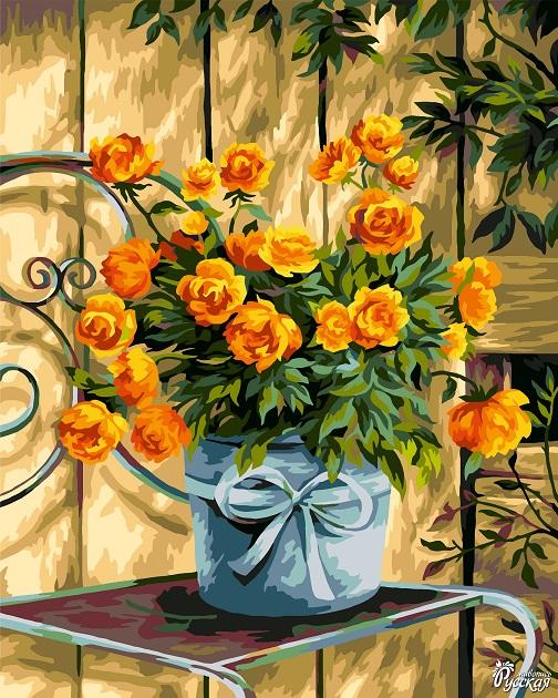 Творч Рисование по номерам 40Х50 Солнечные жарки