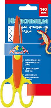 Творч Ножницы фигурные 140мм Апплика Зубцы