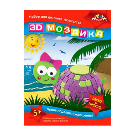 3D Мозаика Черепашка