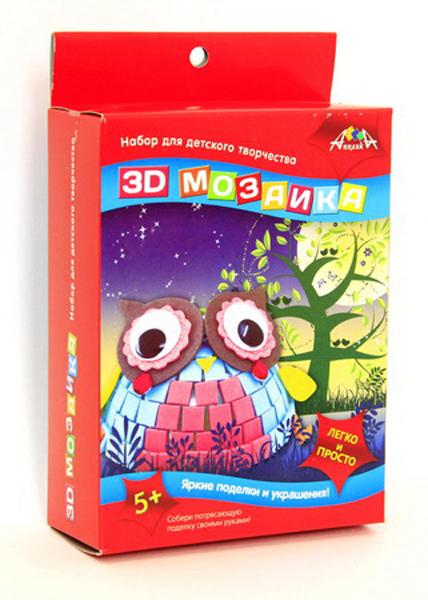3D Мозаика Совенок