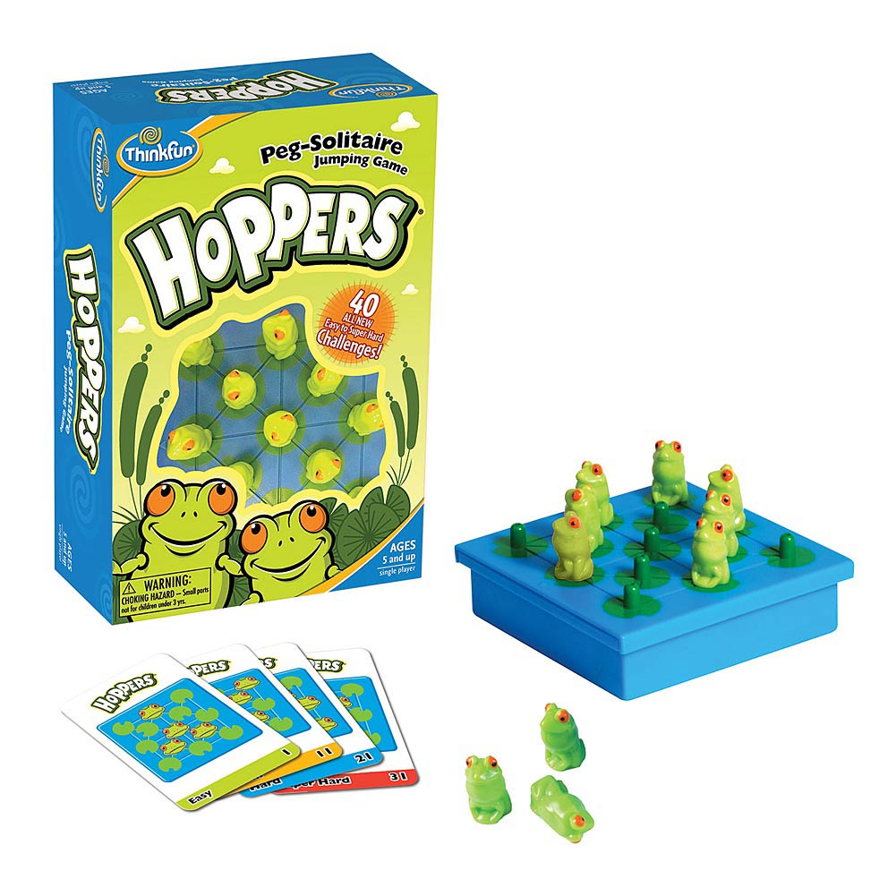 Игра АКЦИЯ19 Игр Головоломка Лягушки - непоседы Hoppers