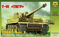 Сборная модель Немецкий тяжелый танк Т-VI Тигр 1/35